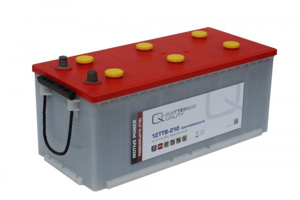 Q-Batteries 12TTB-210 12V 210 Ah (C20) gesloten blok batterij, positieve buisplaat