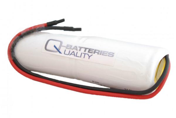 Batterij pack 2.4V 4500mAh staaf NiCd L2x1 D hoge temperatuur cellen/kabel
