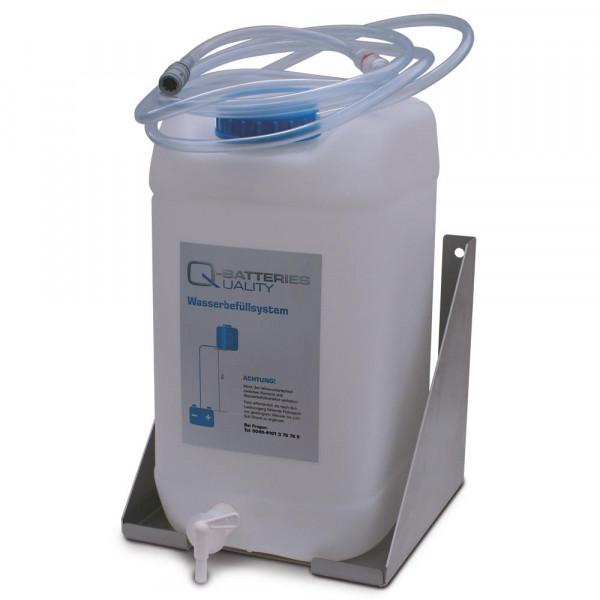 Drop watertank 30 l en wandhouder in set Ook om individueel te kopen