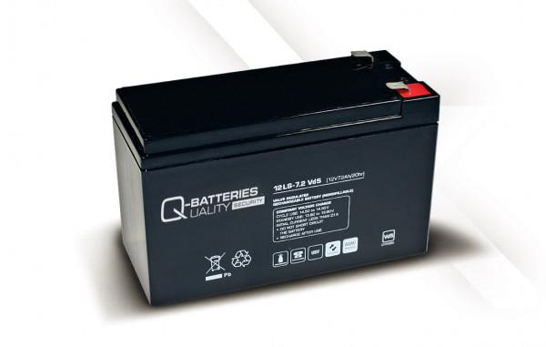 Vervangingsbatterij voor APC Back-UPS CS BK350EI RBC2 RBC 2/brandbatterij met VdS