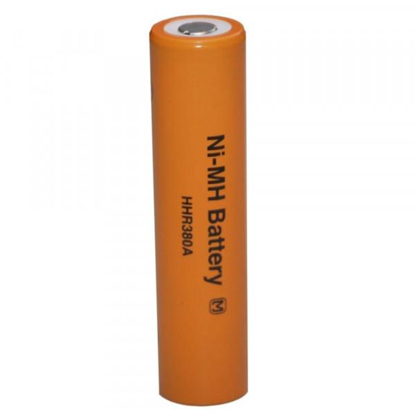 Panasonic HHR-380A batterij NiMH 1.2V 3800mAh 4/3A