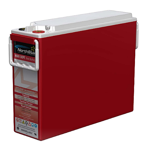Northstar Red NSB 40FT HT-High Temperatuur 12V 40 Ah (10h) AGM accu