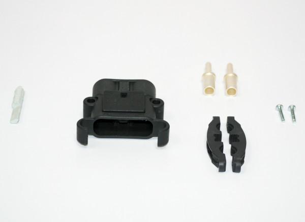 REMA connector Euro Din 320A 95 mm² (coderingspin grijs, hoofdcontact, belastingverlichting)