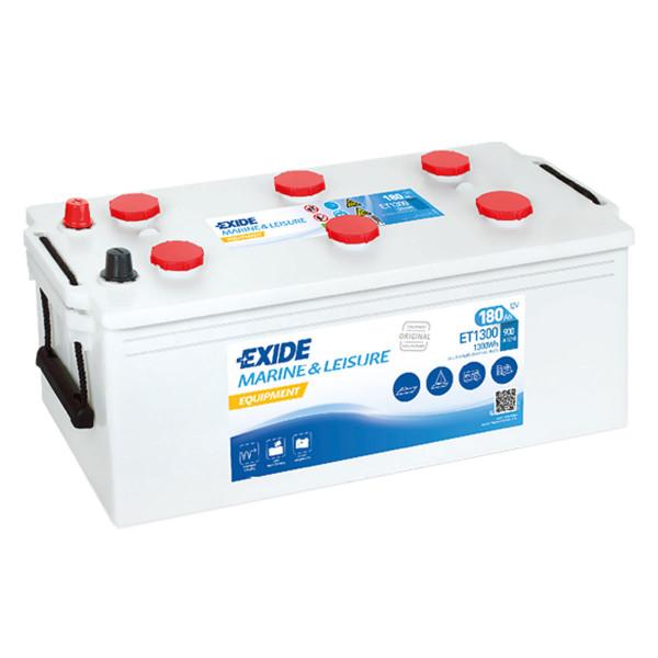 Exide ET 1300 (vervangt 963 51) 12V 180AH loodzuur – batterij semitractie