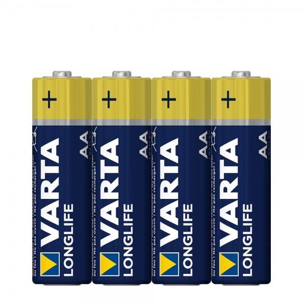 VARTA Longlife Mignon AA Battery 4106 (4 folie)