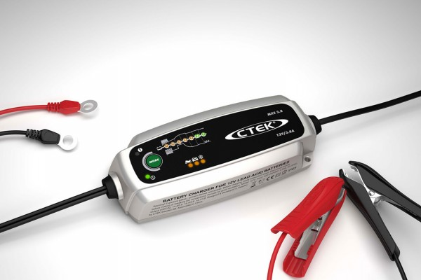 CTEK MXS 3.8 Charger (AC-net) voor loodaccu 12V 3.8A Charging current High-frequency lader