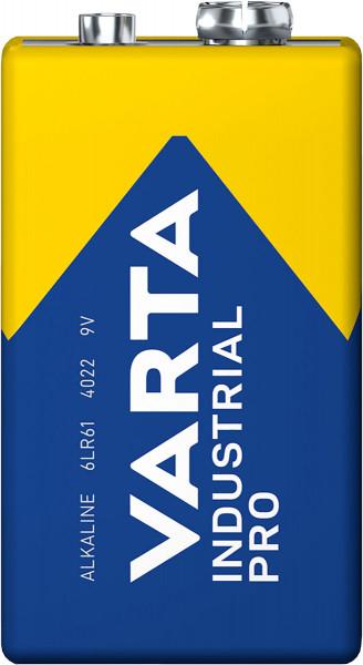 VARTA Industrial Pro 9V Block Battery 4022 (minder)