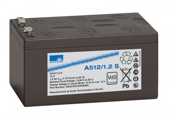 sonnenschein A512/1,2 S VdS 12V 1,2 Ah dryfit loodgel accu VRLA