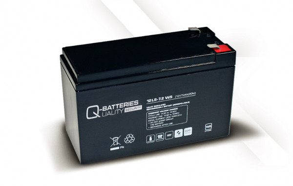 Vervangingsbatterij voor APC Back-UPS CS BK650EI RBC17 RBC 17/brandbatterij met VdS