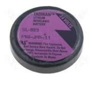 Tadiran SL-889/P ER-1/10D Industriële cel Lithium-Thionylchloride 3,6V 1000mAh 6,2x33.0 (HxØ/mm)