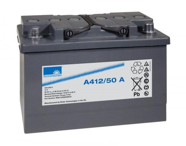 Exide sonnenschein A412/50 A 12V 50 Ah dryfit loodgel accu VRLA
