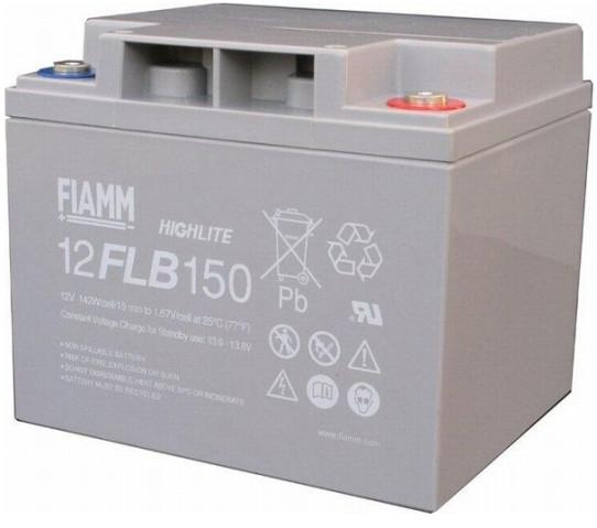 FIAMM HIGHlite 12FLB150P 12V 40 Ah AGM lood non spillable 10-12 jaar accu