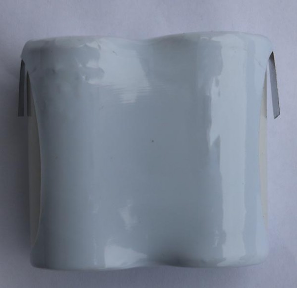 Batterij pack 2,4V 2500mAh serie NiCd F2x1 2xC hoge temperatuur cellen/solder vlag