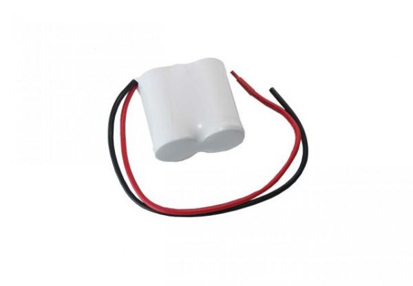 Batterijpakket 2.4V 1800mAh serie NiCd F2x1 2xSub-C Hoge temperatuur cellen/kabel
