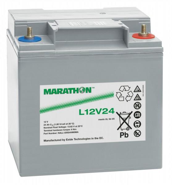 Exide Marathon UL12V24 12V 23,5 Ah AGM loodaccu VRLA