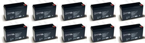Vervangingsbatterij voor APC Symmetra SY16K3IBX120 voor Symmetra 4-16kVA/brandbatterij met VdS