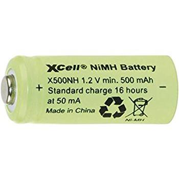 Xcell batterij Lady 1.2V 500 mAh NiMH 1 eenheden (Bulk)