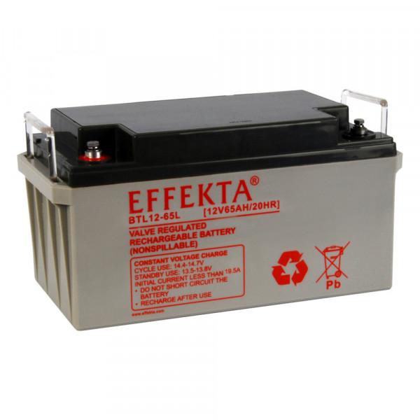 EFFEKTA BTL 12-65 12V 65 Ah loodaccu/lood non spillable accu AGM VRLA