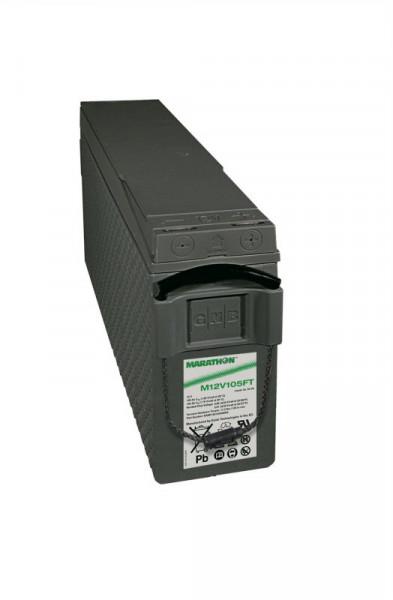 Exide Marathon M12V105FT 12V 100 Ah UL94-V0 frontterminal AGM lood non spillable accu VRLA
