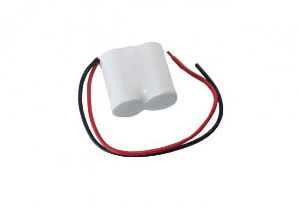 Batterijpakket 2.4V 4000mAh serie NiCd F2x1 2xD hoge temperatuurcellen/kabel