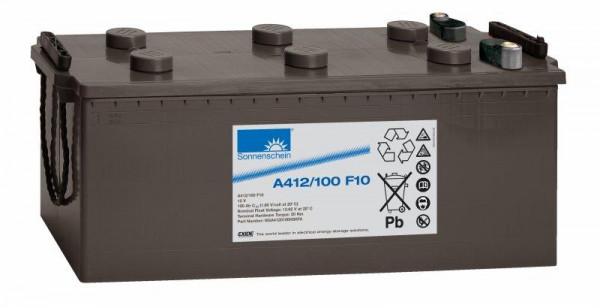 Exide sonnenschein A412/100 F10 12V 100 Ah dryfit loodgel accu VRLA