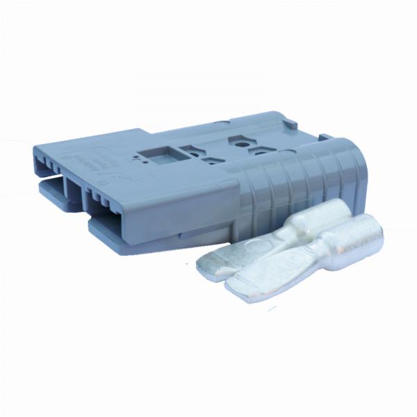 Anderson platte stekker SBE 320A grijs, stekker incl. 2 hoofdcontacten, 36V, 50 mm² (of vergelijkbaa