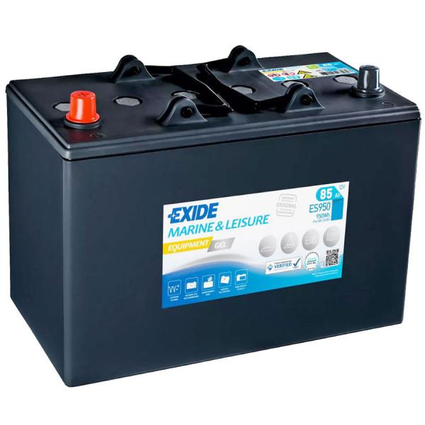 Exide ES 950 (vervangt G85) 12V 85 Ah loodgel accu VRLA
