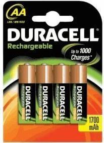 Duracell opladen Ultra Battery Mignon AA HR6 2500mAh NiMH voorgeladen (4 Blister)
