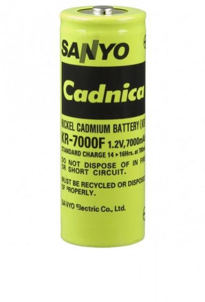 Sanyo KR-7000 F 1,2V 7000mAh NiCd 88,7 H x 32,40Ø mm KR-SC Nickel-Cadmium