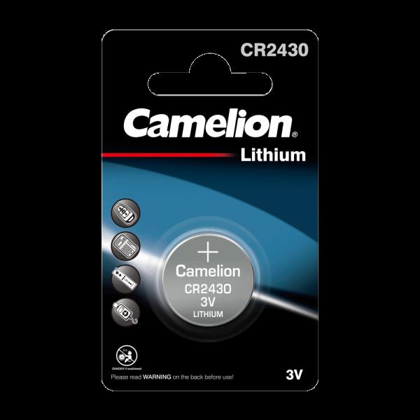 Camelion CR2430 lithiumknopcel (1 blisterverpakking) UN3090