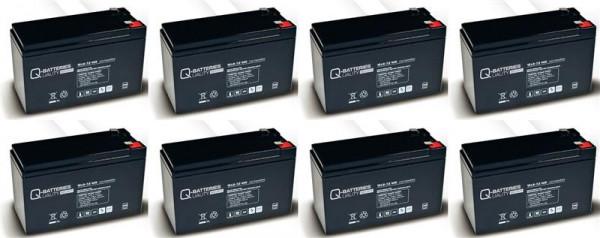 Vervangingsbatterij voor APC Smart-UPS SU5000RMI5U RBC12 RBC 12/brandbatterij met VdS
