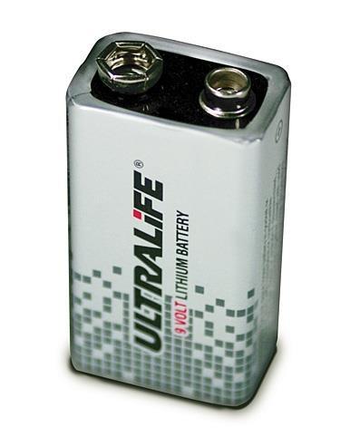 Ultralife U9VLJPX – 9V Power Cell Lithium Battery 9V 1200mAh (in blister)