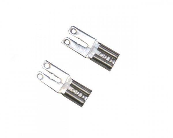 FASTON Adapter Set (2 stuks) 4,8 mm mouw op 6,3 mm plug