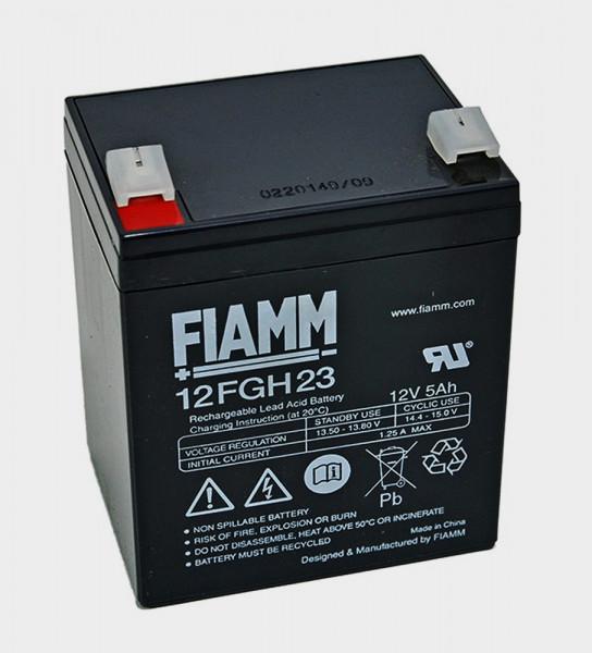 FIAMM 12FGH23 12V 5 Ah lood non spillable accu/lood accu FGH20502