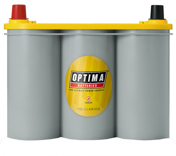 Optima Yellow Top YT S – 2.1, 6V 55 Ah, AGM cyclusbestendig, SpiralCell-technologie