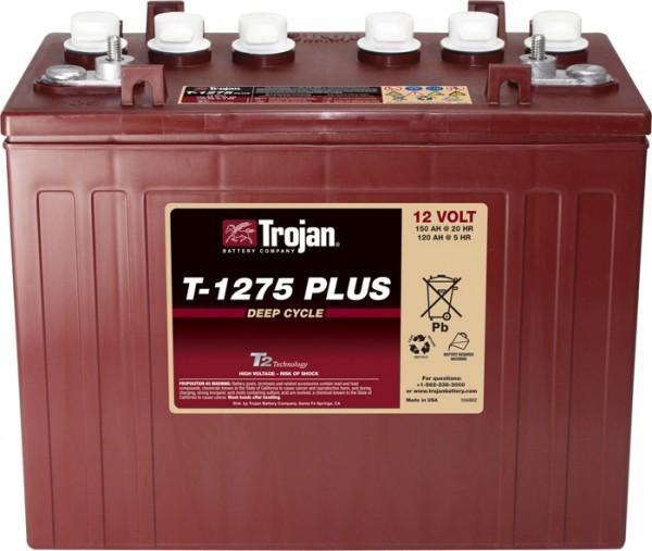 Trojan T-1275 Plus 12V 150 Ah Deep Cycle tractie accu ELPT-terminal