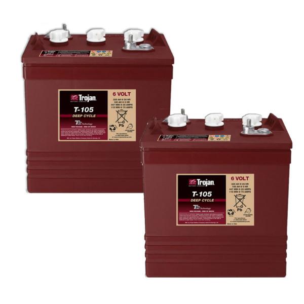 Vervangende batterij voor Ballymore HW4-24 12V hefplatform batterij – batterij hefplatform