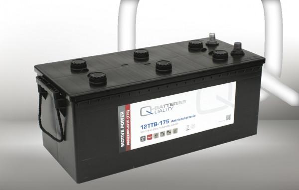 Q-Batteries 12TTB-175 12V 175 Ah (C20) gesloten blok batterij, positieve buisplaat