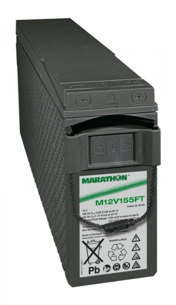 Exide Marathon M12V155FT 12V 150 Ah UL94-V0 frontterminal AGM lood non spillable accu VRLA