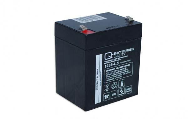 Q-Batteries 12LS-4.5 12V 4,5 Ah Lead non spillable accu/AGM VRLA