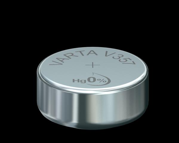 VARTA Watch V357 SR44 1.55 V Watch batterij High Drain 145mAh (1 Blister)