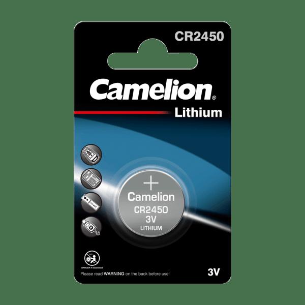 Camelion CR2450 lithiumknopcel (1 blisterverpakking) UN3090