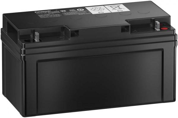 Panasonic LC-X1265PG 12V 65 Ah lood non spillable accu AGM met VdS