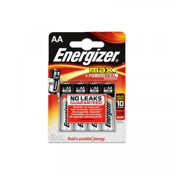Energizer MAX LR06 Mignon AA Alkaline batterij (4 blister)