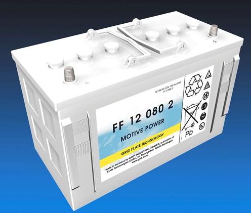 Exide Classic FF 12 080 2 tractiebatterij 12 Volt 80 Ah (5h) drivemobil tractiebatterij