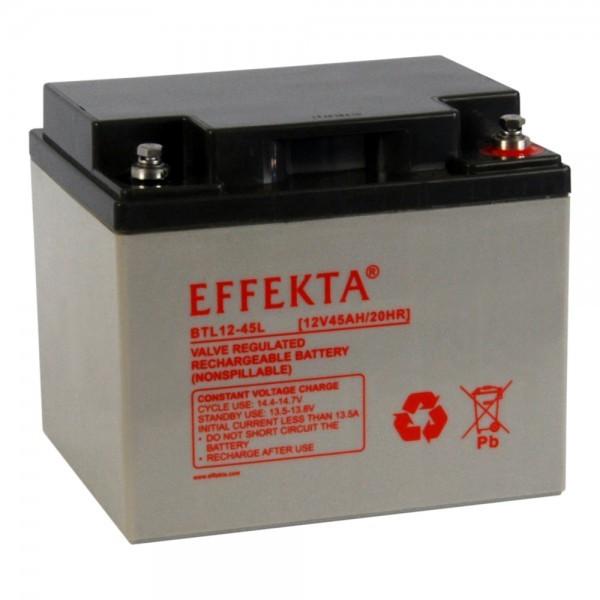 EFFEKTA BTL 12-45 12V 45 Ah loodaccu/lood non spillable accu AGM VRLA