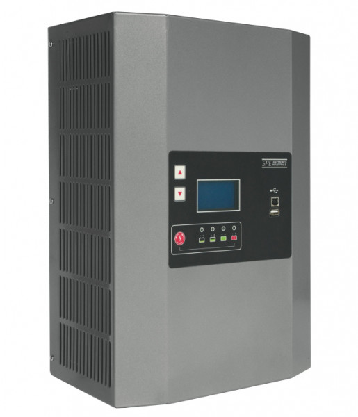 Q-Batteries energiebesparende hoogfrequente lader 36V 40A door S.P.E. Charger GREEN2 zonder batterij