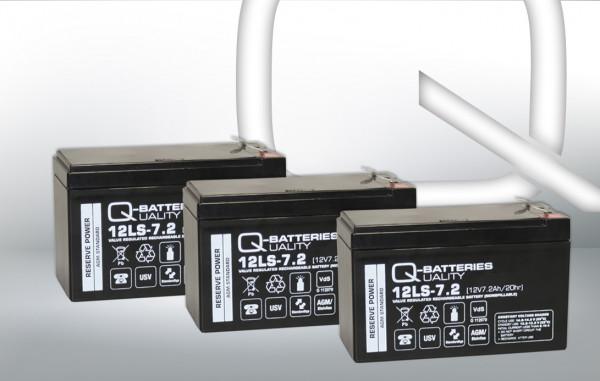 Vervangingsbatterij voor AdPoS Micro-S 1500 Pro/brandbatterij met VdS