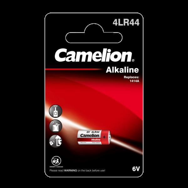 Camelion 4LR44 alkalische mangaanbatterij (1 blisterverpakkingen)