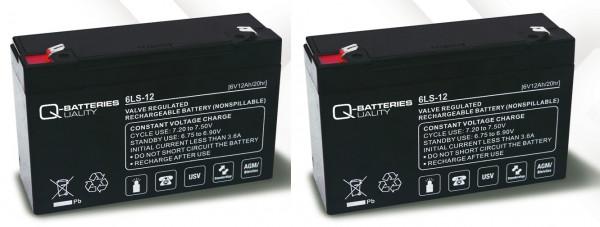 Vervangingsbatterij voor APC Back-UPS BK650 RBC3 RBC 3/brandbatterij met VdS